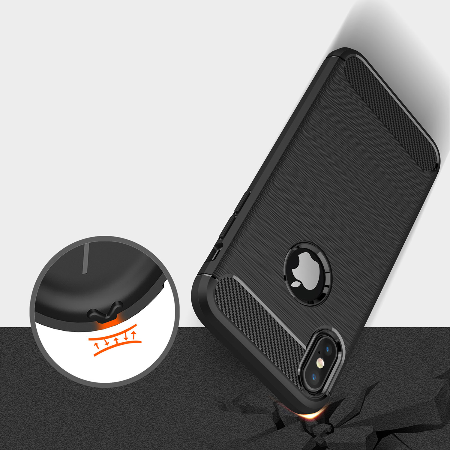 MillSO Case For Iphone X Mars